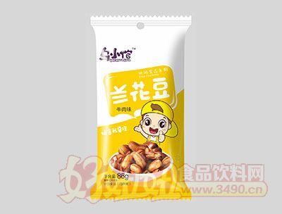 乌小馆牛肉味兰花豆86g