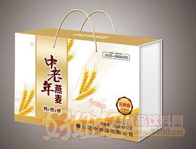 烟台江中中老年燕麦无蔗糖饮品