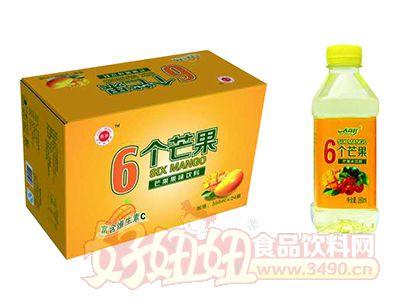 春尚好6个芒果芒果果味饮料350ml×24瓶