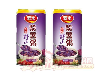 蒙水养生野山紫薯粥320g