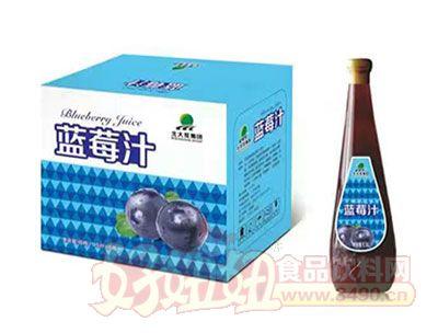 北大荒蓝莓汁1.5L*6瓶