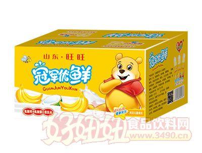 冠军优鲜乳酸菌200ml香蕉味箱装
