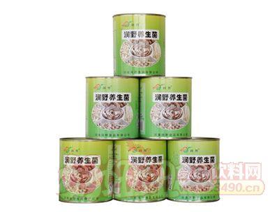 润野养生菌罐装