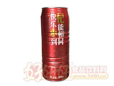 君源饮品红枣枸杞饮料红罐960ml