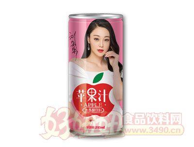 君源饮品苹果汁清香醋饮料210ml(红)