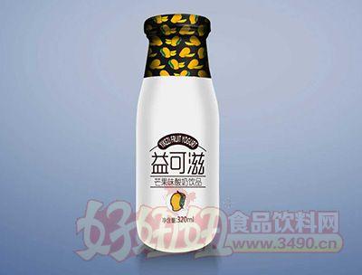 益可滋芒果味酸奶饮品320ml