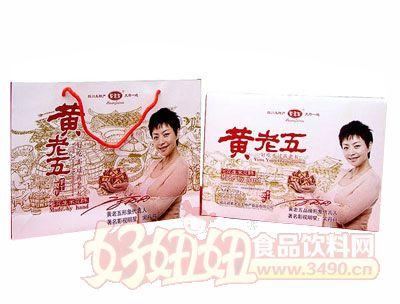 黄老五518克米花酥礼盒