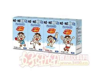 旺旺O泡果奶�闻�125ml(原味)
