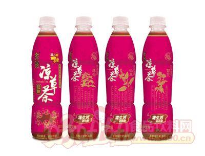 旺旺老翁凉草茶450mlL
