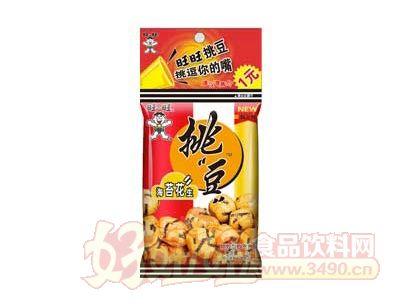 旺旺挑豆23g(海苔花生)