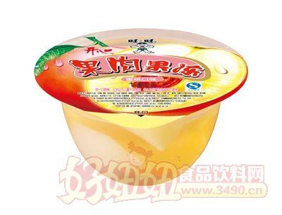 �_心果肉果��125g(蜜桃味)
