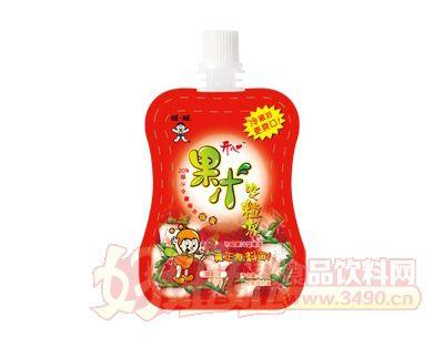 开心果汁吸粒冻(草莓味)