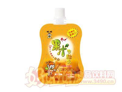 开心果汁吸粒冻(香橙味)