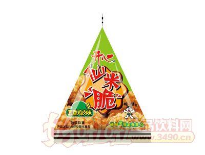 开心仙米脆(葱香鸡肉味)