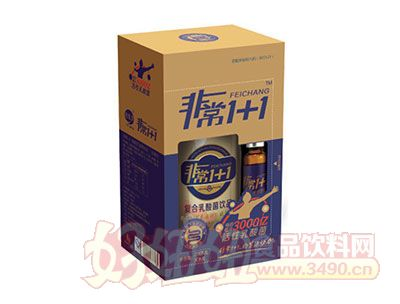 非常1+1复合活菌型乳酸菌饮品盒装300ml
