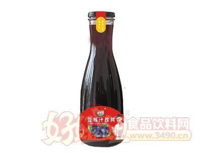 千汁汇蓝莓汁1L