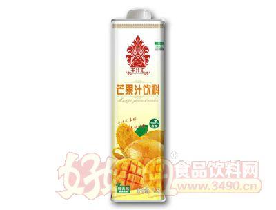 千汁汇芒果汁1.5L盒装