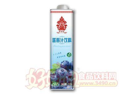 千汁汇蓝莓汁1.5L盒装