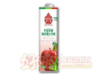 千汁汇芦荟苹果汁1L盒装