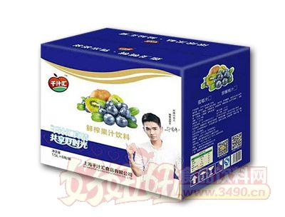 千汁汇蓝莓汁1.5L*8瓶/箱