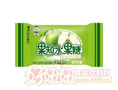 旺果知水果糖(青�O果味)