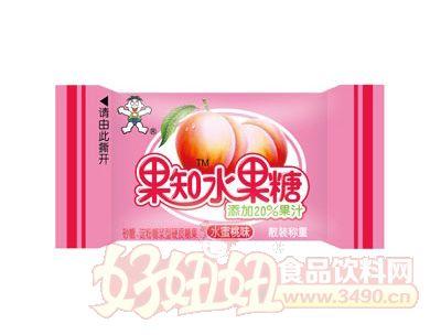 旺果知水果糖(水蜜桃味)