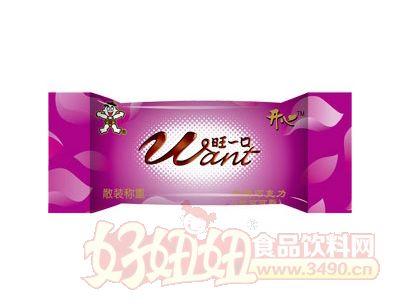 旺一口巧克力(牛奶巧克力)