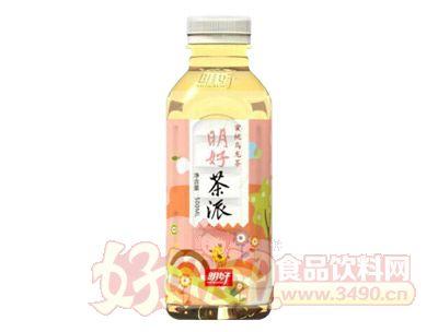 明好茶派蜜桃乌龙茶饮料500ml