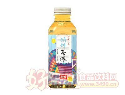 明好茶派柠檬红茶饮料500ml