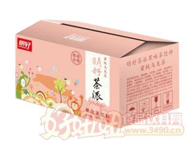 明好茶派蜜桃乌龙茶饮料500ml*15瓶