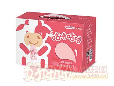 养乐舒儿童乳酸菌饮品200ml*16瓶(草莓味)