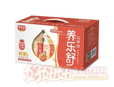养乐舒鲜果C菌乳酸菌340ml*10瓶(草莓味)