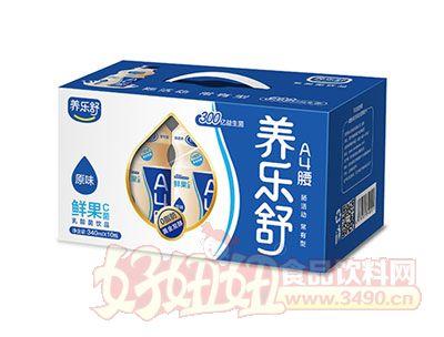 养乐舒鲜果C菌乳酸菌340ml*10瓶(原味)