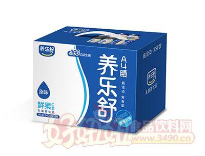 养乐舒鲜果C菌乳酸菌340ml*12瓶(原味)