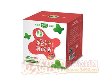轻纤乳酸菌1000Ml*6瓶(新疆草莓味)