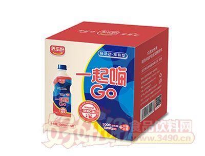 一起嗨GO乳酸菌1000ml*6瓶(草莓味)