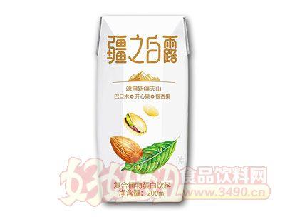 疆之白露符合植物蛋白饮料200ml