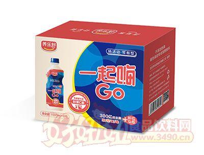 一起嗨GO乳酸菌1000ml*8瓶(草莓味)