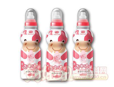 养乐舒儿童乳酸菌草莓味200ml