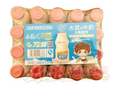 小强人乳酸菌饮品108ml×20瓶
