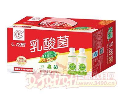 强人乳酸菌饮品350ml×10瓶礼盒
