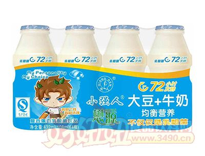 小强人乳酸菌饮品108ml×4瓶