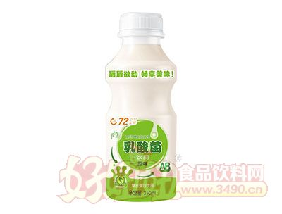 强人原味乳酸菌饮品350ml