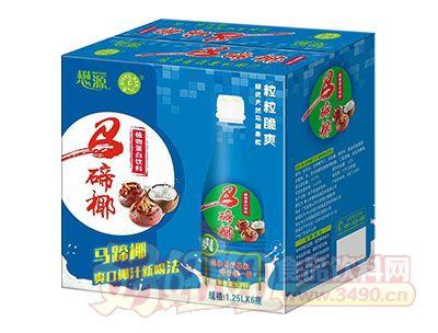 懋源强人马蹄椰植物蛋白饮料1.25L×6瓶