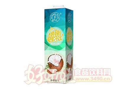 强人泰式鲜榨椰子汁1L
