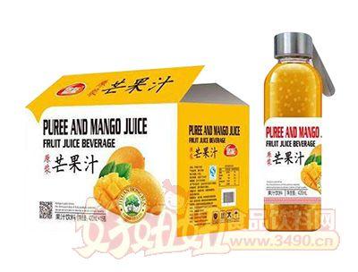 团友原浆芒果汁饮料420ml×15瓶