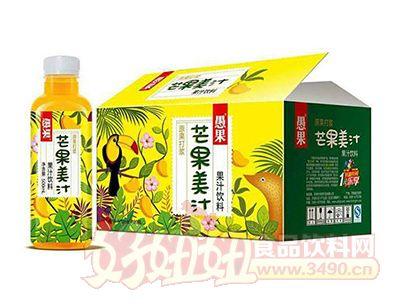 愚果芒果美汁果汁饮料500mlX15瓶