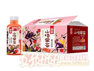 愚果山楂果茶果汁饮料500mlx15瓶