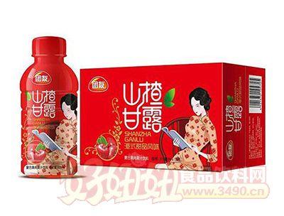团友山楂甘露果汁饮料350ml×15瓶