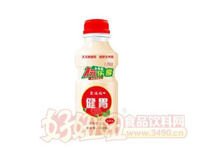 聚满福乳酸菌饮品340ml红